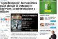 """""""Il Predestinato"""", fantapolitica sullo sfondo di Datagate e Snowden: la presentazione a Milano"""